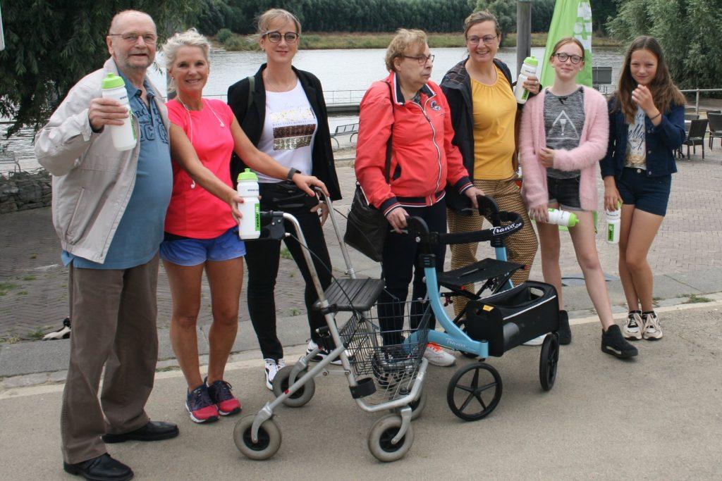Groepsfoto beweegroute Venlo